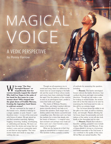 Magical Voice Article
